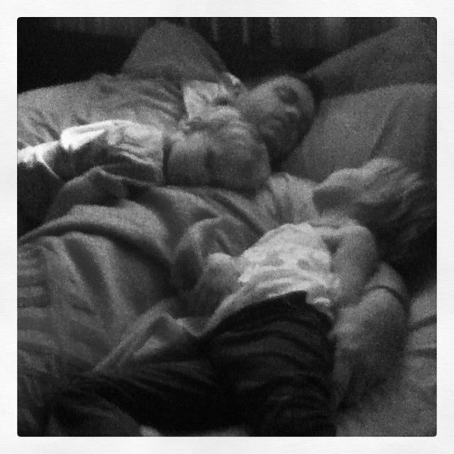 My sleeping sickies