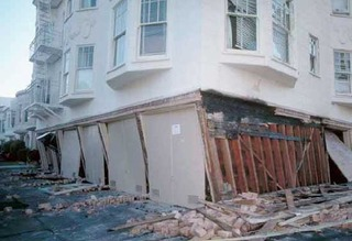 SF quake opposite side